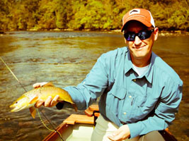 Asheville fly fishing guides on the South Holston River