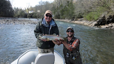 fly fishing the South Holston River