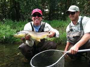 fly fishing the iSouth Holston River