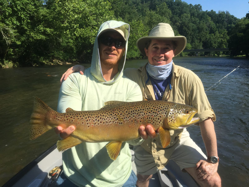 trout flyfishing guides